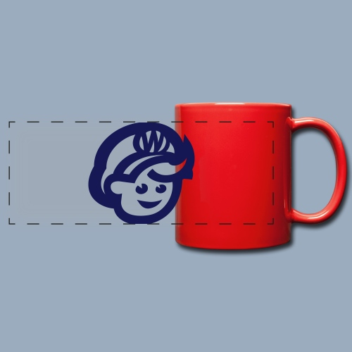 logo bb spreadshirt bb kopfonly - Full Color Panoramic Mug
