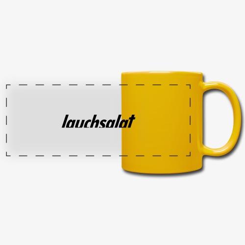lauchsalat - Panoramatasse farbig