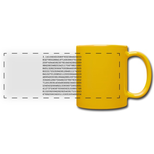 PI - Full Color Panoramic Mug