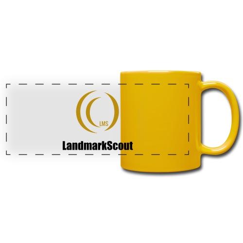 Tshirt Yellow Front logo 2013 png - Full Color Panoramic Mug