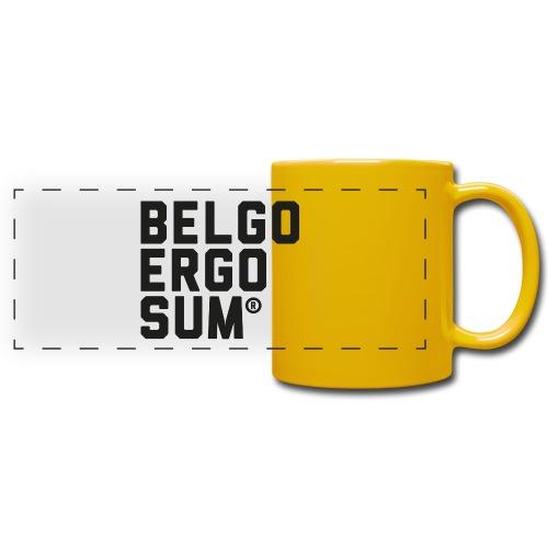 Belgo Ergo Sum - Full Color Panoramic Mug