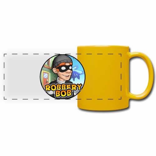 Robbery Bob Button - Full Colour Panoramic Mug
