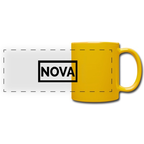 Red Nova Snapback - Full Color Panoramic Mug