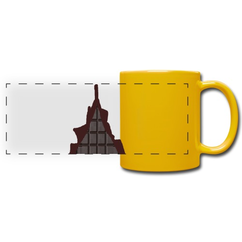 Vraiment, tablette de chocolat ! - Mug panoramique uni