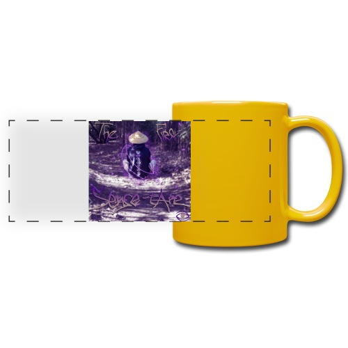 the first sense tape jpg - Full Color Panoramic Mug