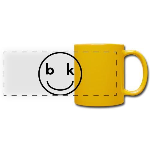 BK snapback - Tazza colorata con vista