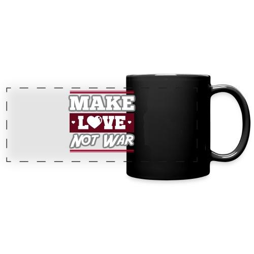 Make_love_not_war by Lattapon - Panoramakrus, farvet
