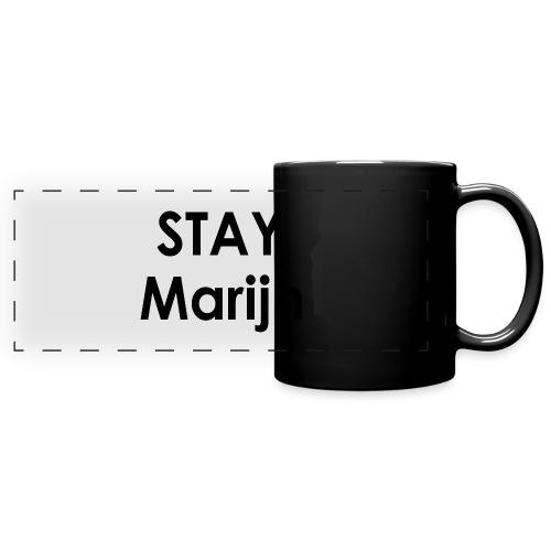 stay marijn black - Panoramamok gekleurd
