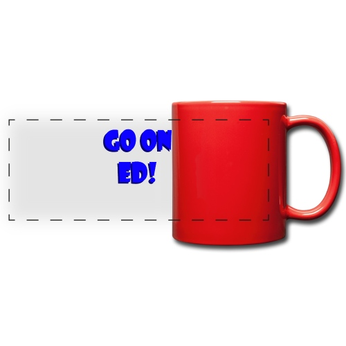 Go on Ed - Full Color Panoramic Mug