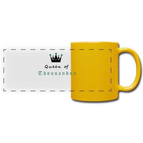 Queenofthousandox - Panoramatasse farbig