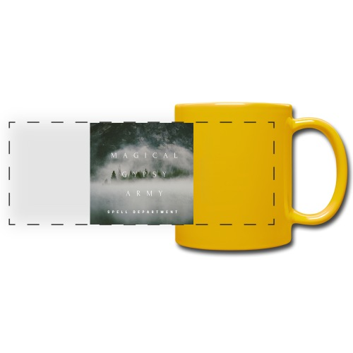 MAGICAL GYPSY ARMY SPELL - Full Color Panoramic Mug