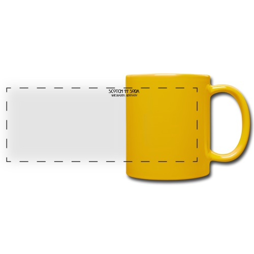Goldgasse 9 - Front - Full Colour Panoramic Mug