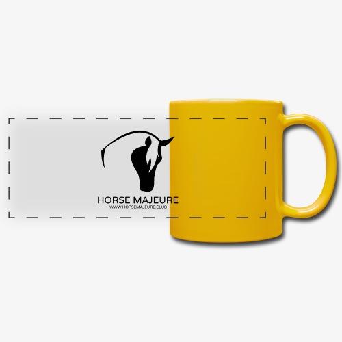 Horse Majeure Logo / Musta - Panoraamamuki värillinen