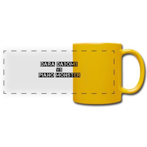 Dara DaBomb VS Piano Monster Range - Full Colour Panoramic Mug