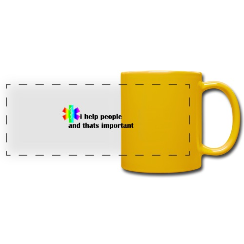i help people - Panoramamok gekleurd