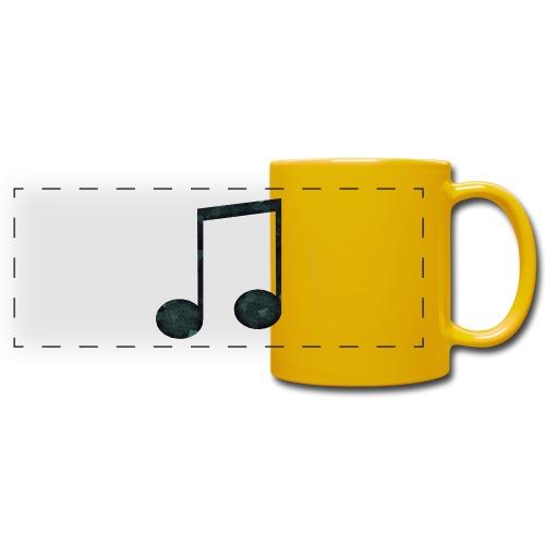 Low Poly Geometric Music Note - Full Color Panoramic Mug