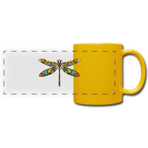 DRAGONFLY SKULL - Panoramatasse farbig