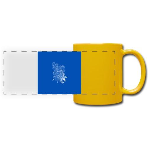 Windy Wings Blue - Full Color Panoramic Mug