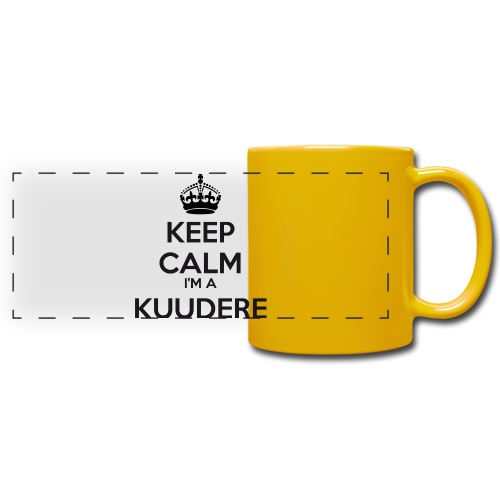 Kuudere keep calm - Full Color Panoramic Mug