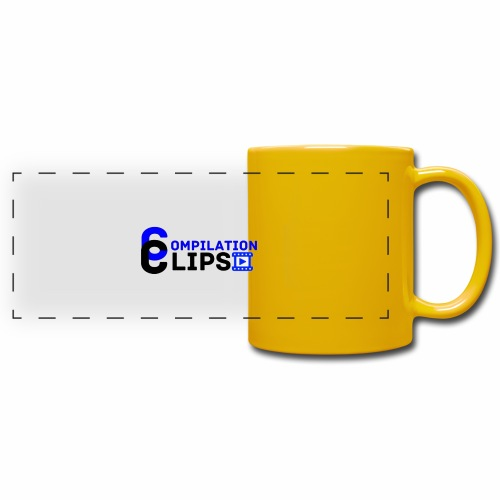Official CompilationClips - Full Color Panoramic Mug