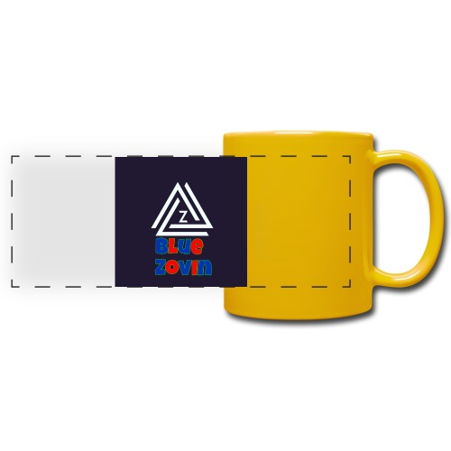 BlueZovinshirt - Full Colour Panoramic Mug