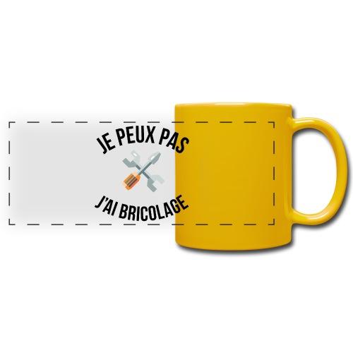 JE PEUX PAS - J'AI BRICOLAGE - Mug panoramique uni