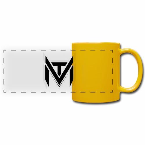 MadVexTV Logo Schwarz - Panoramatasse farbig