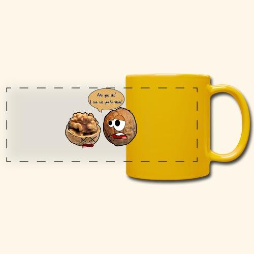 The nuts problem - Tazza colorata con vista