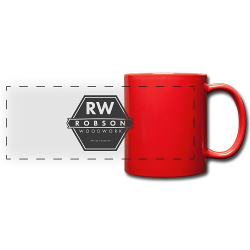 RW logo flat transparent original - Full Colour Panoramic Mug