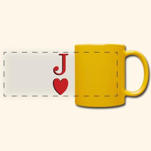 Valet de trèfle - Jack of Heart - Reveal - Mug panoramique uni