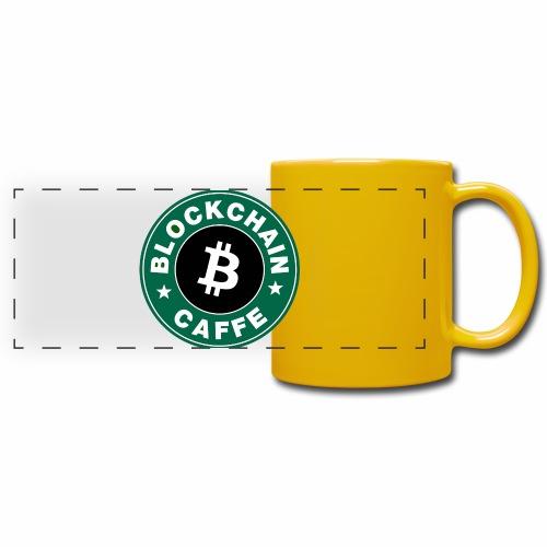 BlockChain Caffè Logo - Tazza colorata con vista