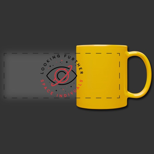 Space Individuals - Looking Further White - Full Color Panoramic Mug