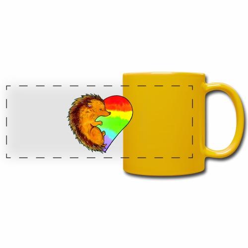 RICCIO - Tazza colorata con vista
