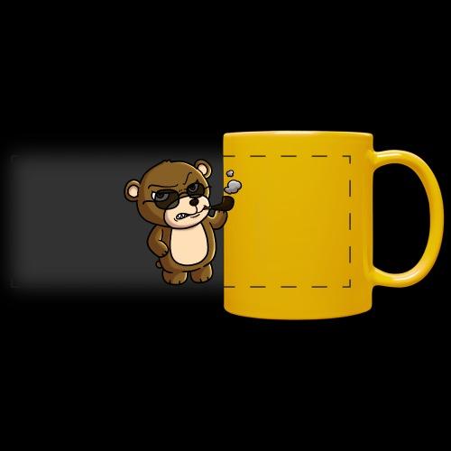 AngryTeddy - Full Color Panoramic Mug