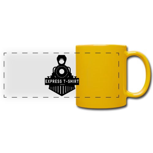 TRAIN EXPRESS T SHIRT - Mug panoramique uni