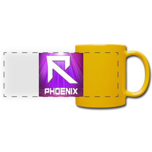 RTrixx Phoenix Logo - Full Colour Panoramic Mug