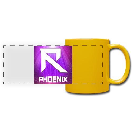 RTrixx Phoenix Logo - Full Colour Panoramic Mug