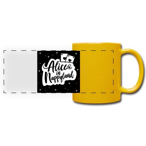 Alice in Nappyland 1 - Full Color Panoramic Mug