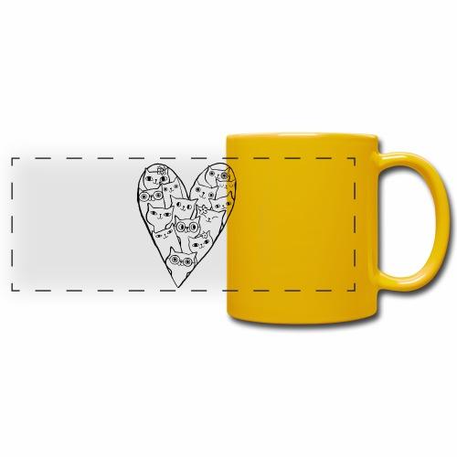 I Love Cats - Full Color Panoramic Mug