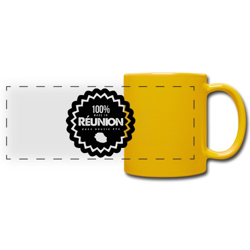 Collection 100% MADE IN REUNION - Mug panoramique uni