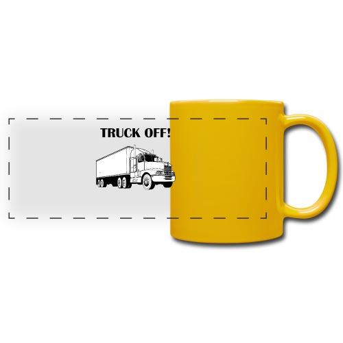 Truck off! - Full Colour Panoramic Mug