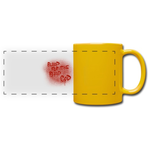 Blood For The Blood God - Full Color Panoramic Mug
