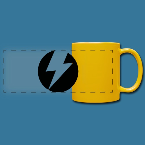 BlueSparks - Inverted - Full Color Panoramic Mug