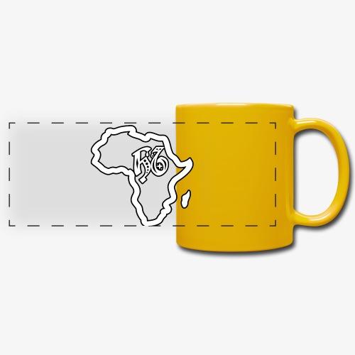 afrika pictogram - Panoramamok gekleurd