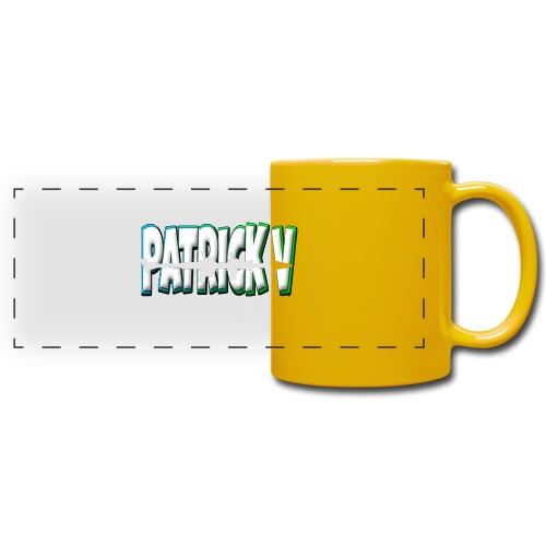 Patrick V Name - Full Color Panoramic Mug