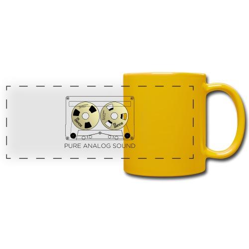 Reel gold cassette white - Full Colour Panoramic Mug