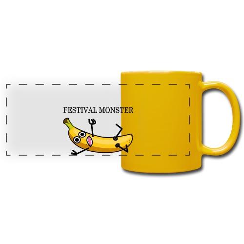 Festival Banane - Panoramatasse farbig