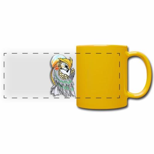 Cosmic owl - Taza panorámica de colores