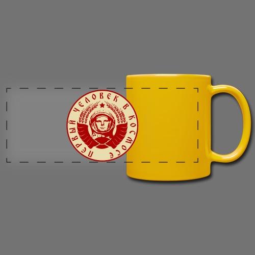 Cosmonaut 2c - Full Color Panoramic Mug