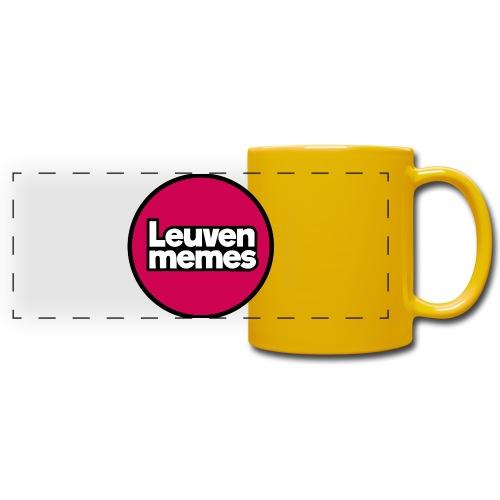Logo LeuvenMemes - Mug panoramique uni